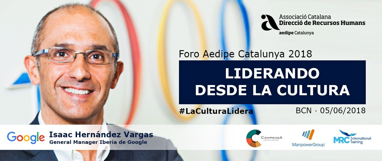 Isaac Hernández, ponent del Foro Aedipe Catalunya 2018. 05/06/2018